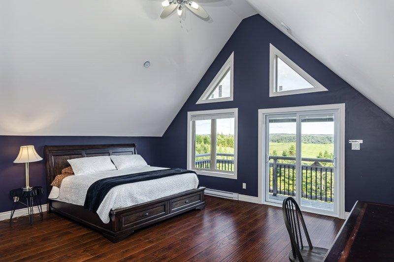 Red Cottage Bedroom